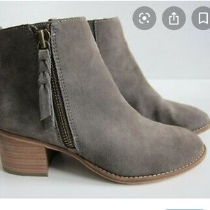 BP ankle grey bootie